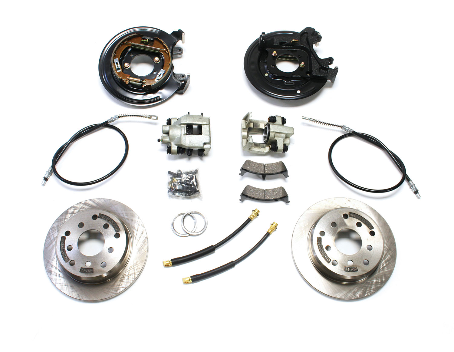 Teraflex Disc Brake Conversion Kit Rear - LJ/TJ