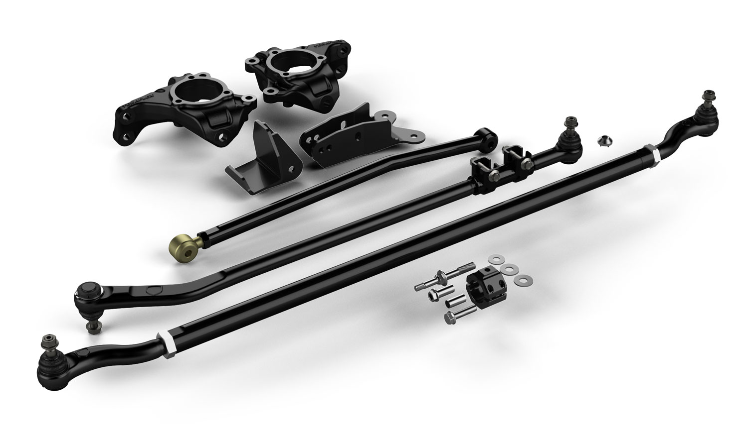 Teraflex Complete High Steer System w/Heavy Duty Tie Rod and Flipped Drag Link - JK