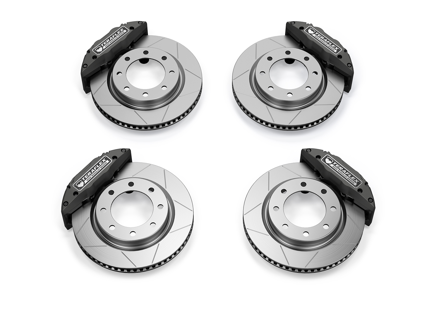 Teraflex Front/Rear Delta Brake Kit, 8x6.5in Pattern - JL/JK
