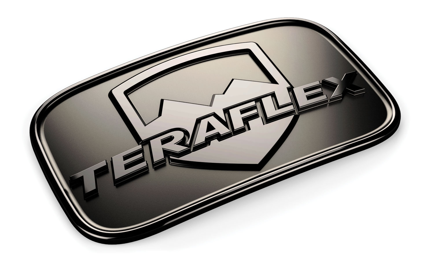 Teraflex License Plate Delete Badge - JK