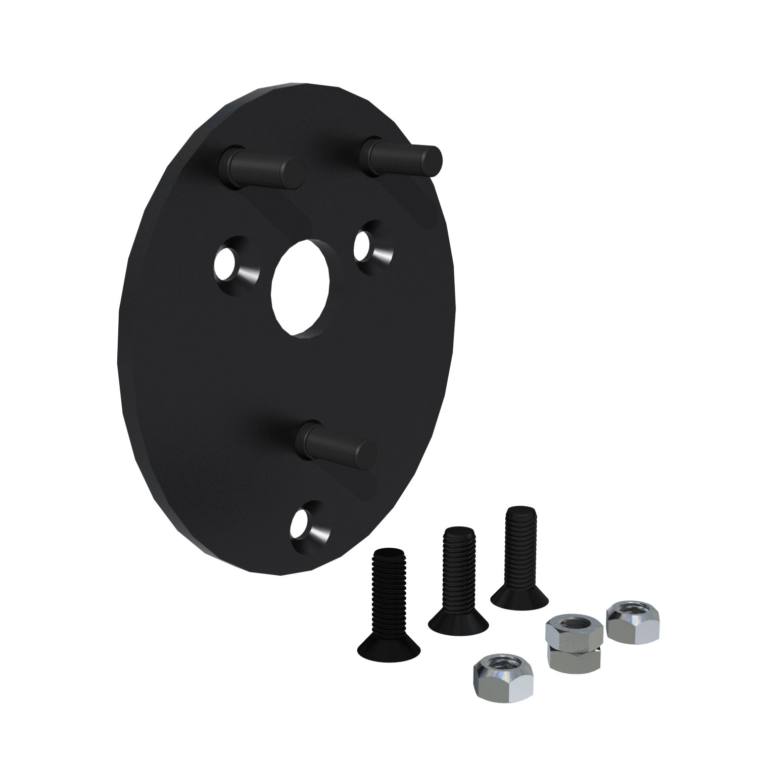 Teraflex Spare Tire Relocation Plate Kit 1.5in - JK