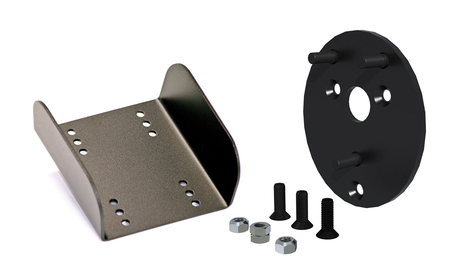 Teraflex JK Spare Tire Relocation Plate w/Brake Light Extension Kit - JK