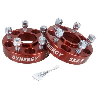Synergy Manufacturing Hub Centric Wheel Spacer Kit 5x4.5 1.25in - LJ/TJ/XJ/YJ/ZJ