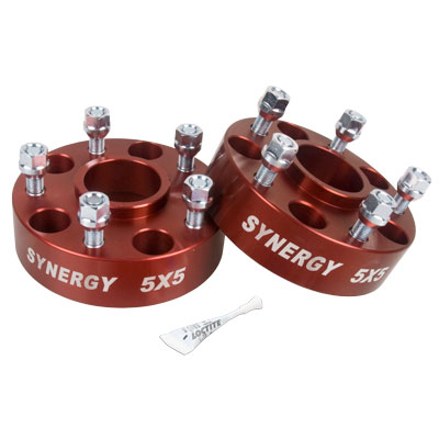 Synergy Manufacturing Hub Centric Wheel Spacer Kit 5x5 1.75in  - JK/WJ