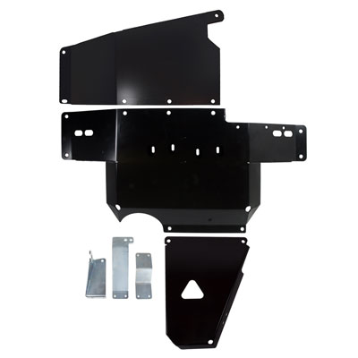 Synergy Manufacturing HD Skid Plate System Black - JK 2012+