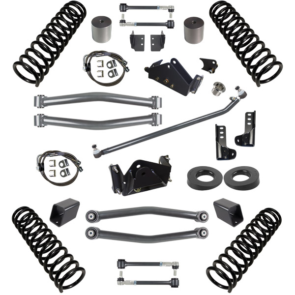 Synergy Manufacturing 3in Suspension System Lift Kit, Stage 2 - JK 2DR
