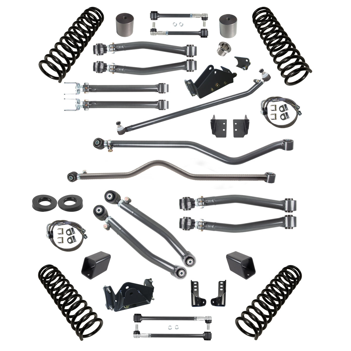 Synergy Manufacturing Stage 3 Suspension System 4in Lift - JK 2dr