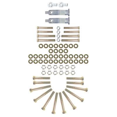 Synergy Complete UCA, LCA and Track Bar Hardware Kit - JK