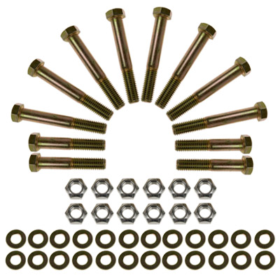 Synergy Manufacturing Lower Control Arm and Track Bar Hardware Kit - JK