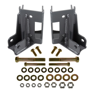Synergy Manufacturing Rear Lower Control Arm Skids w/ Integrated Shock Mounts - JK