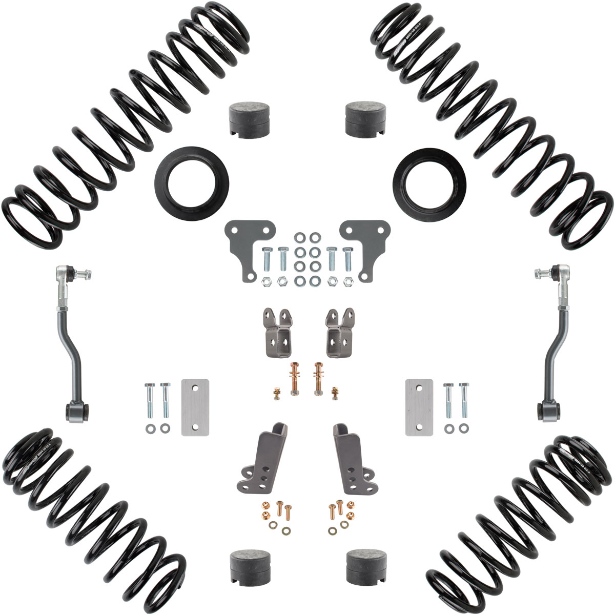 Synergy Manufacturing 2in Starter Lift Kit - JL 2Dr