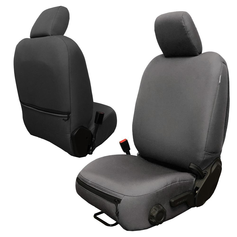 Bartact Front Seat Covers Base Line Performance 4 DR Only 18-Present  JL Graphite Pair