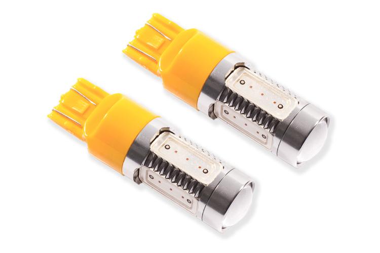 Diode Dynamics Front Turn Signal 7443 HP11 LED Amber - JT/JL