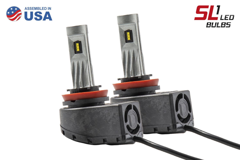 H11 SL1 LED Headlight Set of 4 Diode Dynamics