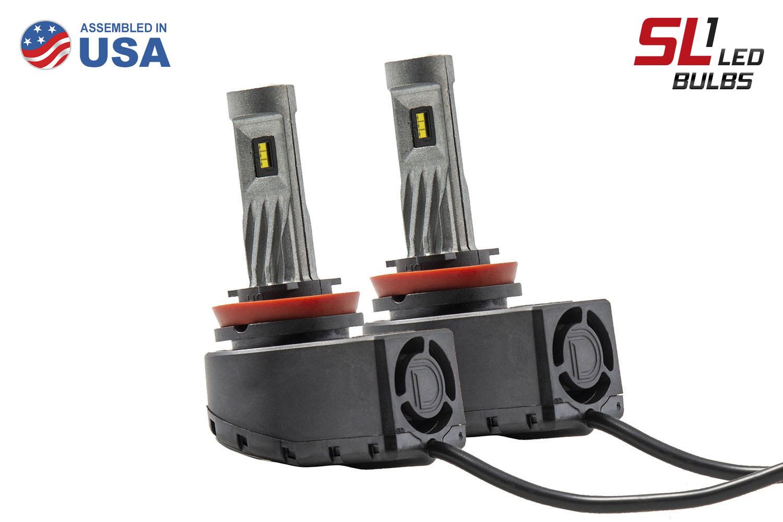 H9 SL1 LED Headlight Pair Diode Dynamics