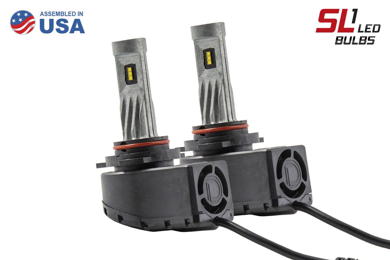 9012 SL1 LED Headlight Pair Diode Dynamics