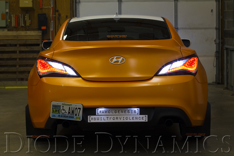Genesis Coupe Tail as Turn +Backup Module 13-16 Hyundai Genesis Coupe Diode Dynamics
