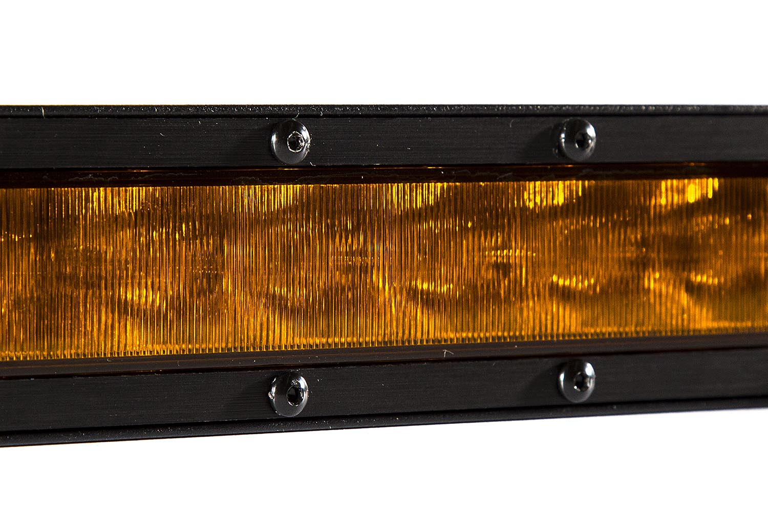 50 Inch LED Light Bar  Single Row Straight Amber Combo Each Stage Series Diode Dynamics