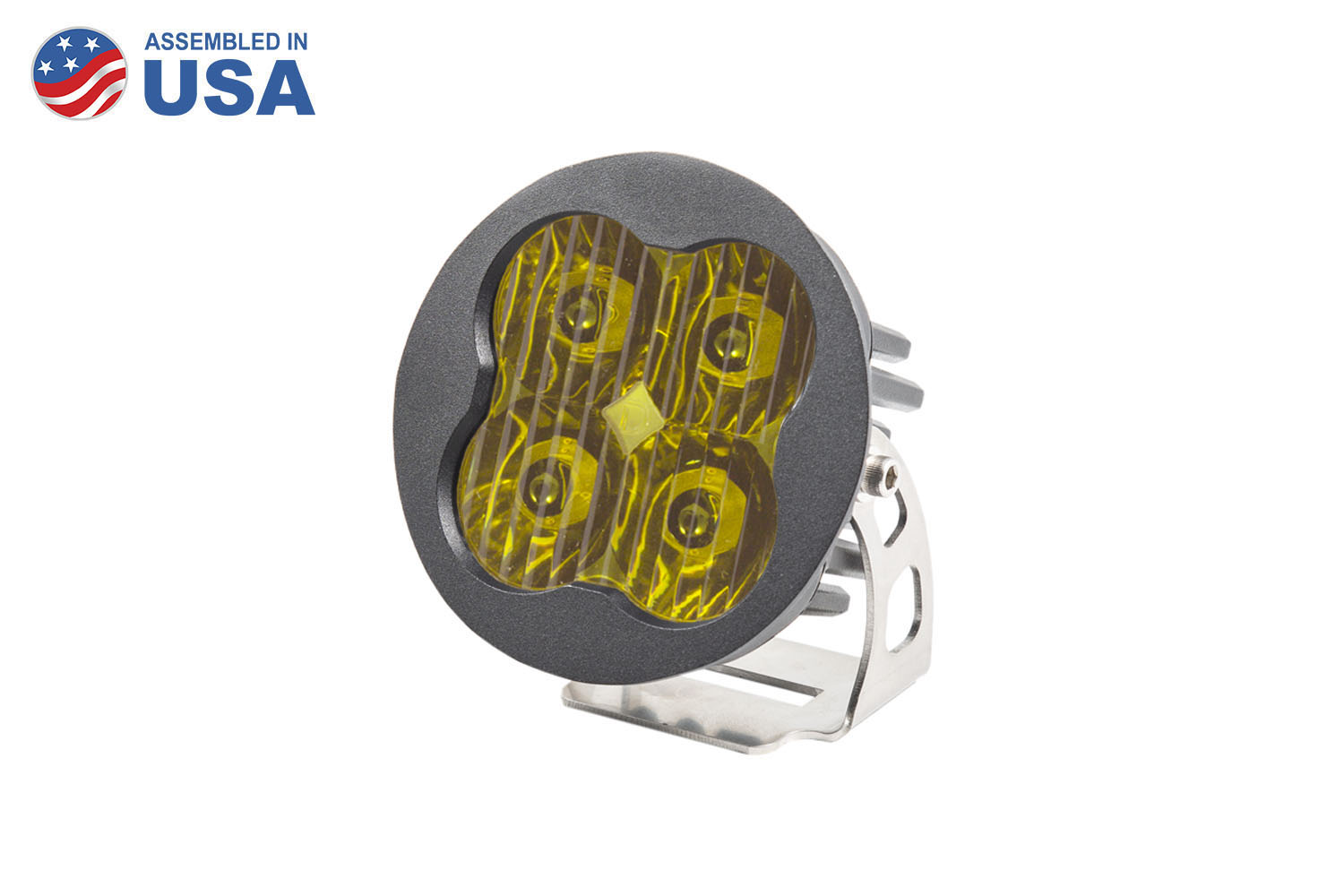 Diode Dynamics SS3 Sport, Round - Driving, Yellow
