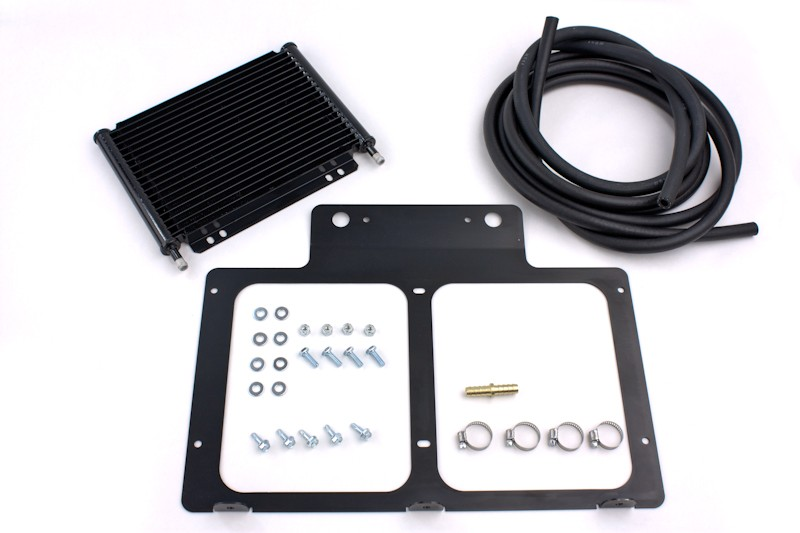 PSC Motorsports Power Steering/Trans Cooler Kit w/Mounting Bracket - JK