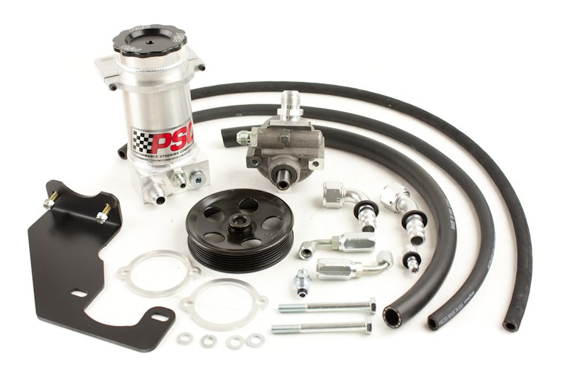 PSC Hemi Conversion Head Mount High Flow Pump Kit - JK