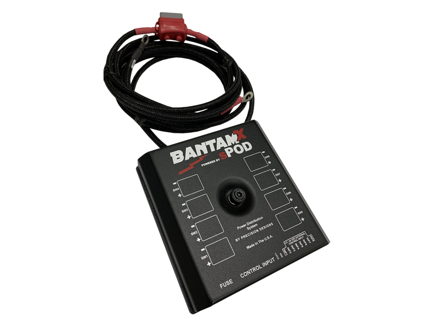 SPod BantamX Add-On, 84in Battery Cables