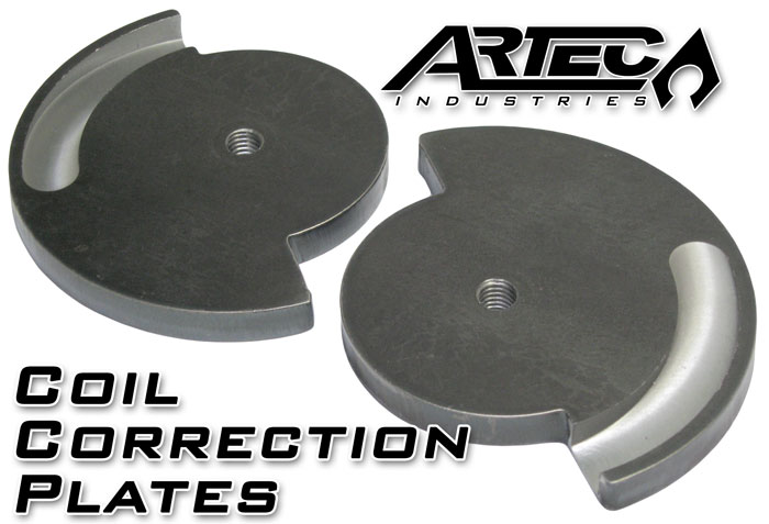 Artec Industries Coil Correction Plate