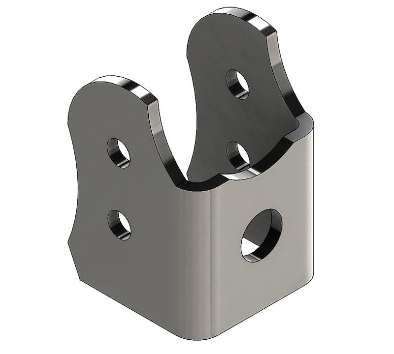 Artec Industries Adjustable Truss Upper Link Mount, 2.63in - TJ