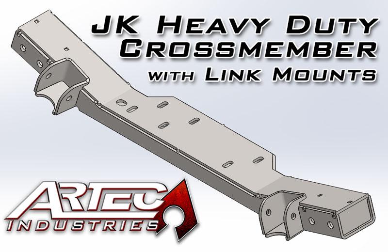 Artec Industries HD Crossmember with Link Mounts - JK