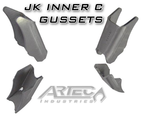Artec Industries Inner C Gussets - JK