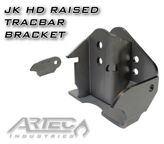 Artec Industries Raised Track Bar Bracket - JK