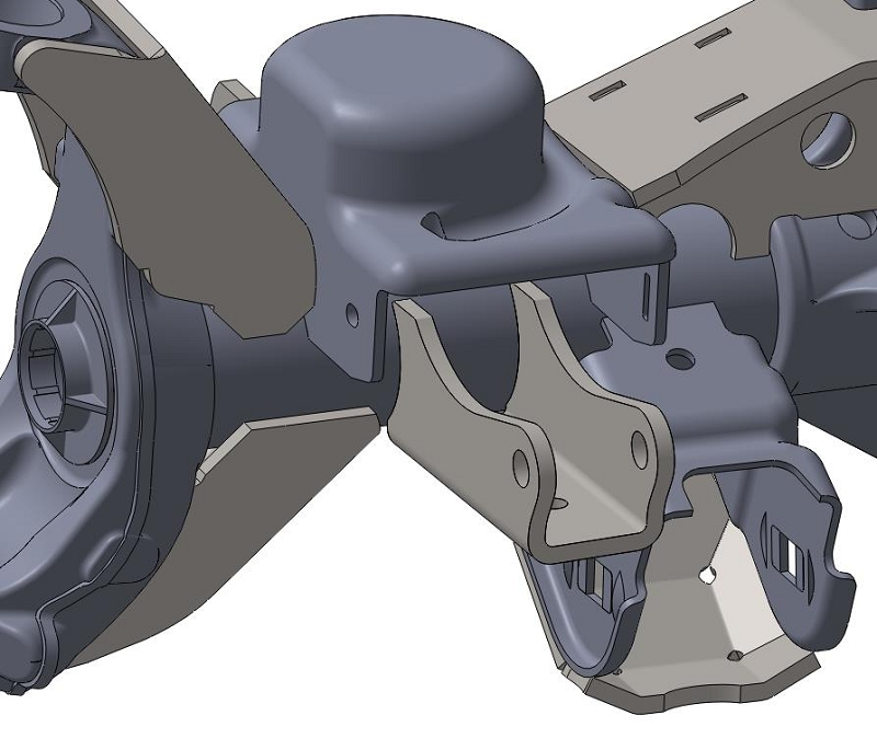 Artec Industries JK Front Shock Mount, Pair - JK