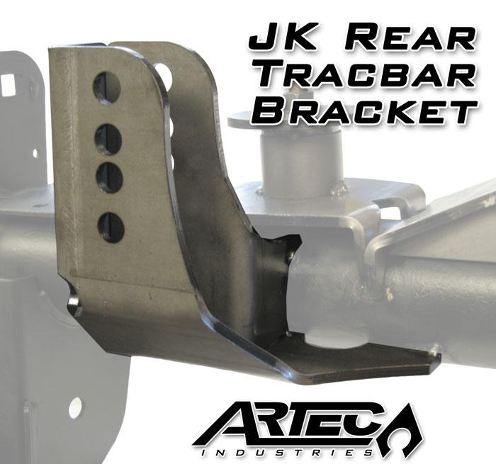 Artec Industries Tracbar Bracket Rear - JK