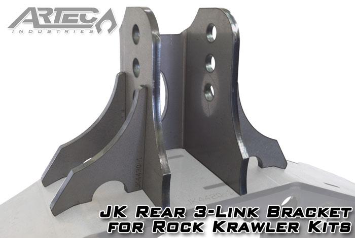 Artec Industries 3-Link Bracket Rear for Rock Krawler Kits - JK