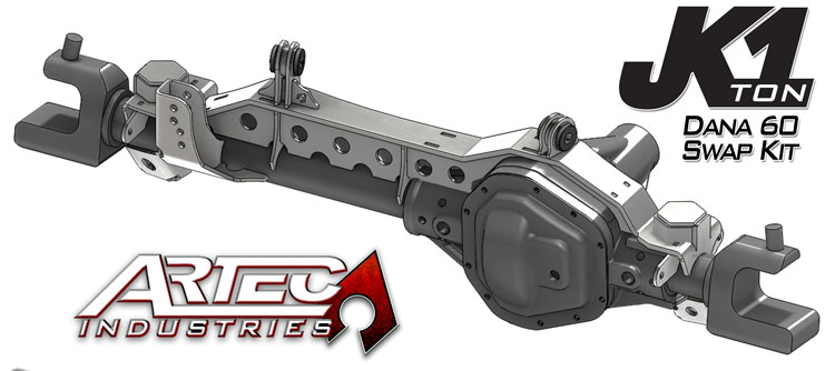 Artec Industries Dana 60 Swap Kit w/Johnny Joints