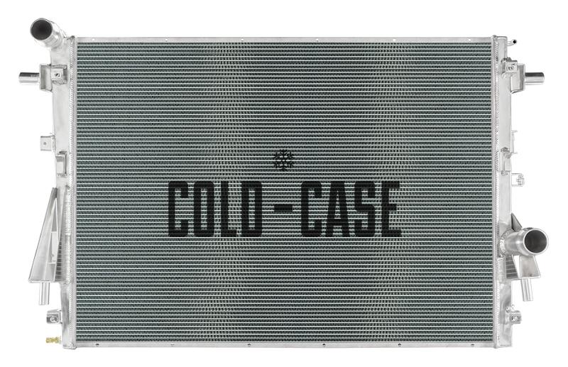 Cold Case 17-19 Ford F250/F350 Aluminum Radiator 6.7 Powerstroke Radiator