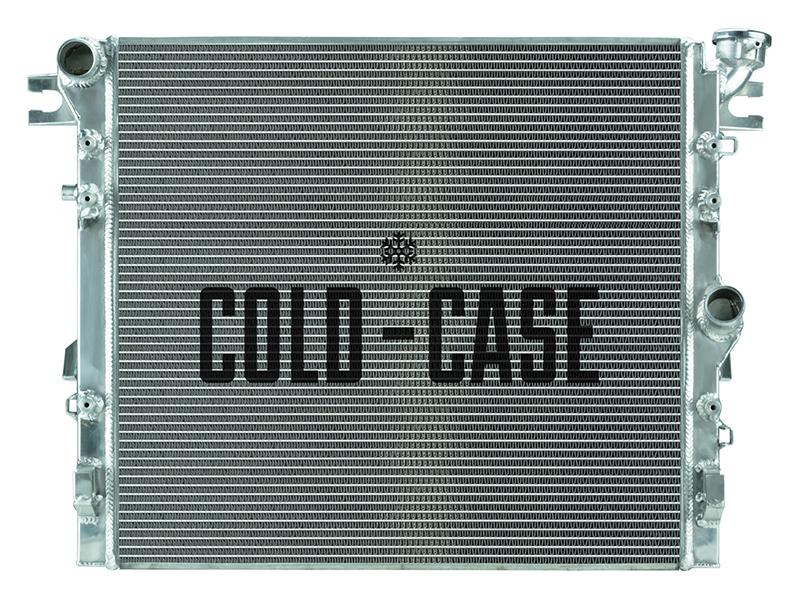 Cold Case 07-17 Jeep Wrangler JK Aluminum Performance Radiator