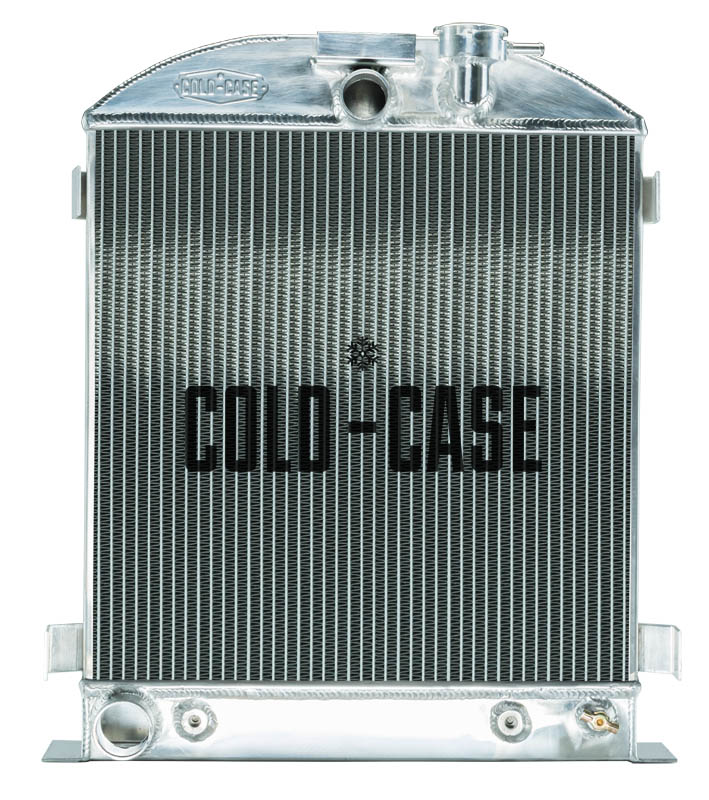 Cold Case 1932 Lowboy Ford Engine Aluminum Performance Radiator