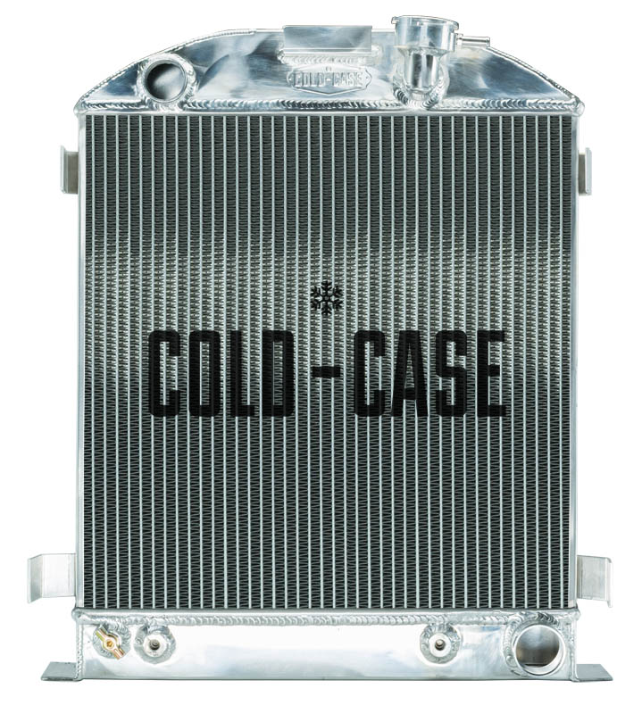 Cold Case 1932 Lowboy Chevy Engine Aluminum Performance Radiator