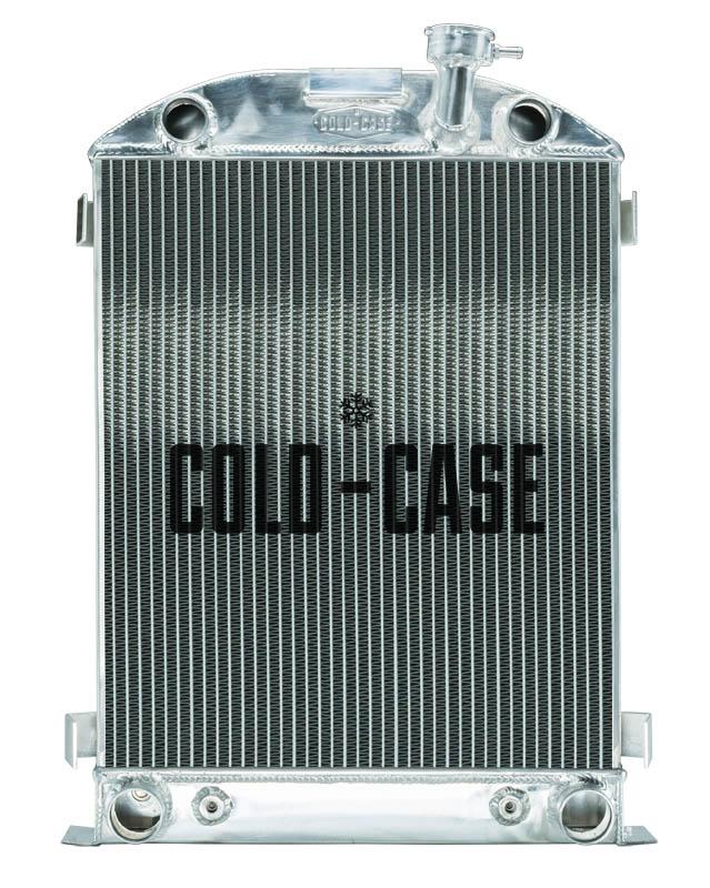 Cold Case 1932 Highboy Flathead Engine Aluminum Performance Radiator