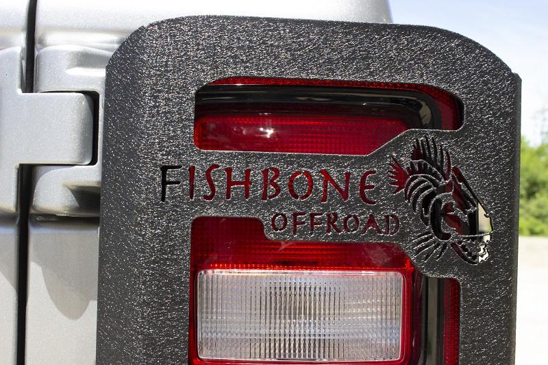 Fishbone Offroad Tail Light Guards  - JL