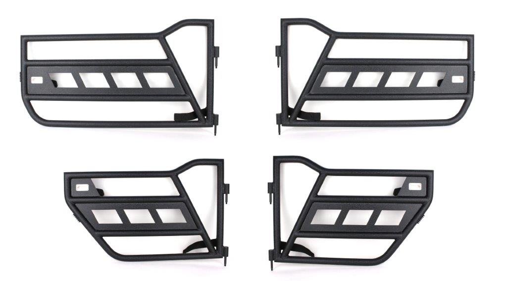 Fishbone Offroad Front and Rear Tube Doors - JT/JL 4Dr
