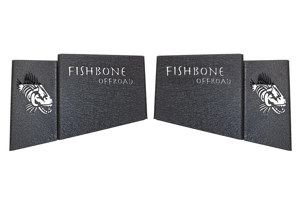 Fishbone Offroad Wheel Well Storage Bins  - JL 4Dr