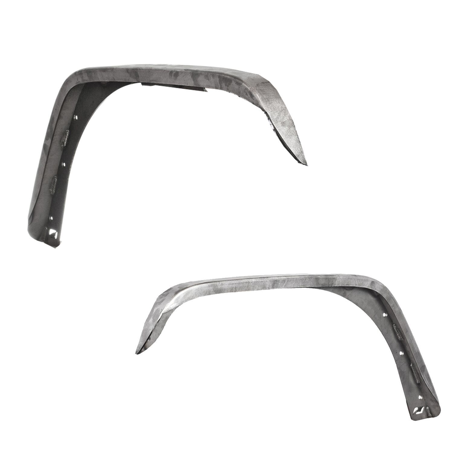 Motobilt Crusher Series Front Fenders - Bare Steel - JK