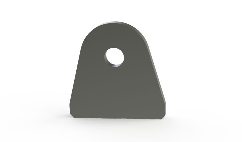 Poly Bushing or Shock Tab 2.5 Inch Base Motobilt