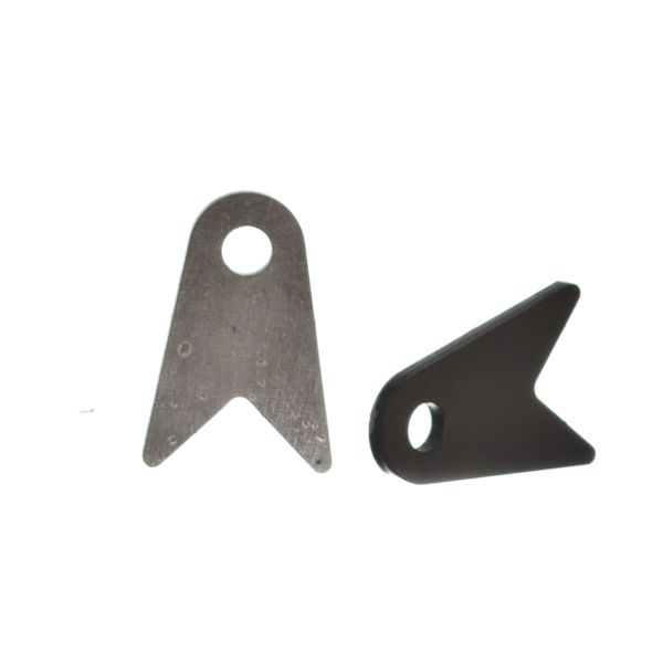 Square Cut Shock Tab For 1.25 Inch Square Tube Motobilt