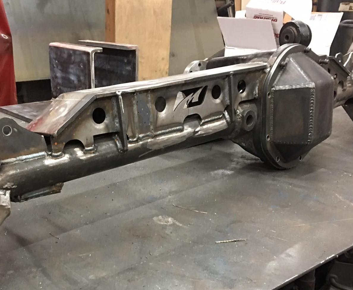 Motobilt Dana 44 Front Axle Truss - Bare Steel - JK Rubicon