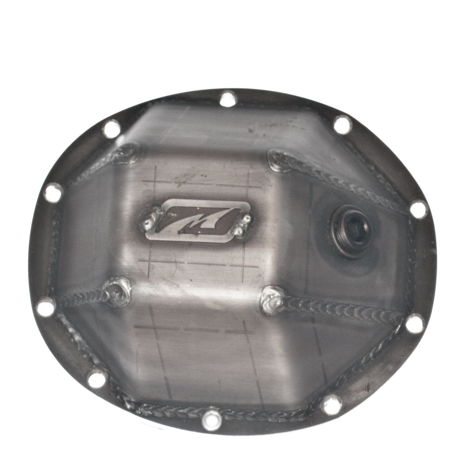 Dana 35 Differential Cover Integrated 3/4 Iinch Fill Plug Motobilt