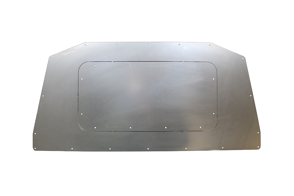 Motobilt Fuel Access Hatch - Bare Steel - JK