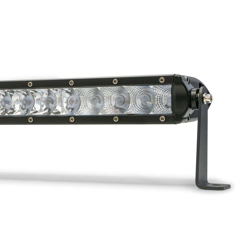 20 Inch Light Bar Slim 100W Spot 5W CREE LED Black DV8 Offroad